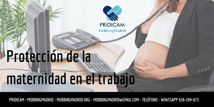 Protección de la maternidad en el trabajo