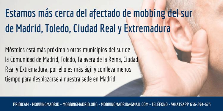 Mobbing Madrid atención