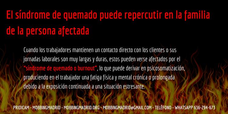 síndrome de quemado