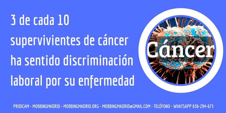 Discriminación laboral por cáncer