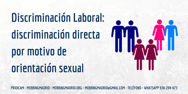 Discriminacion por orientacion homosexual rights